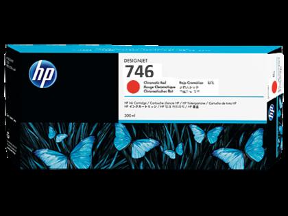 HP 746 Original 300ml Chromatic Red DesignJet Ink Cartridge (P2V81A)