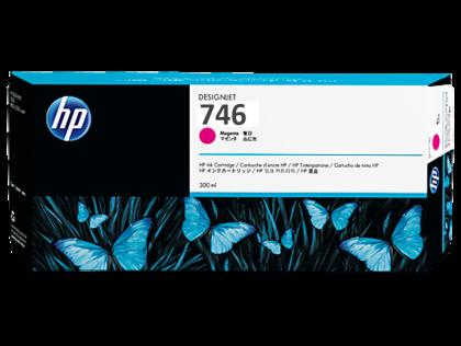 HP 746 Original 300ml Magenta DesignJet Ink Cartridge (P2V78A)