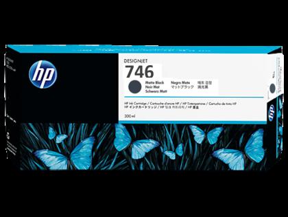 HP 746 Original 300ml Matte Black DesignJet Ink Cartridge (P2V83A)