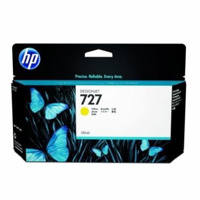 HP 727 Designjet Yellow Ink Cartridge (B3P21A)