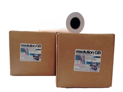 Box of 4 rolls of Resolution Colour CAD Paper