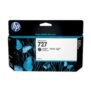 HP 727 Designjet Matte Black Ink Cartridge (C1Q12A)