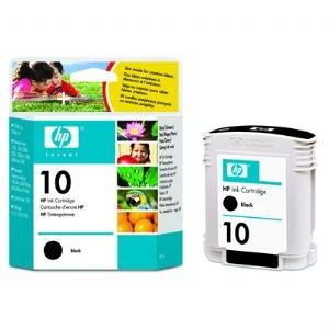 HP Designjet Black ink cartridge No. 10