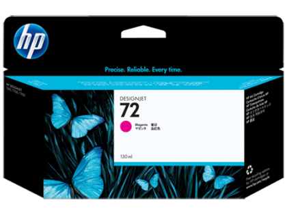 HP Designjet Magenta ink cartridge No. 72