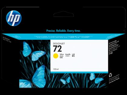 HP Designjet Yellow ink cartridge No. 72
