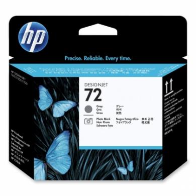 HP No. 72 Photo Black and Grey Printhead