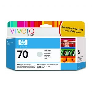 HP Designjet Light Grey ink cartridge No. 70