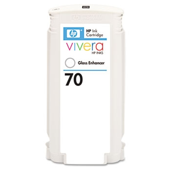 HP 70 Original Standard Capacity Gloss Enhancer Ink Cartridge (C9459A)