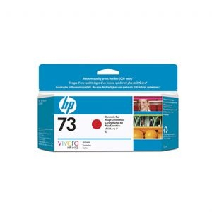 HP 73 Designjet Chromatic Red Ink Cartridge (CD951A)