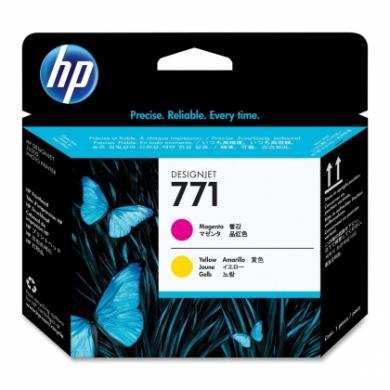 HP No. 771 Magenta and Yellow Printhead