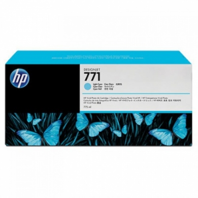 HP Designjet Light Cyan cartridge No. 771