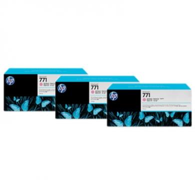 HP Designjet Triple Pack Light Magenta ink cartridge No. 771