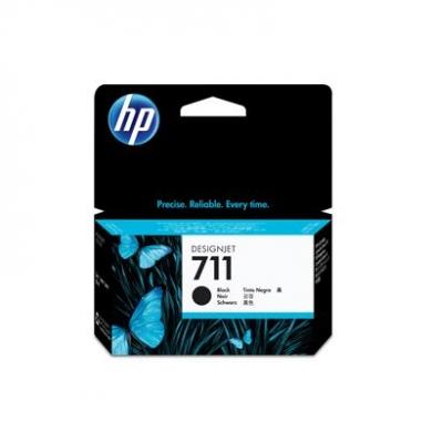 HP 711 Black Ink Cartridge 38ml (CZ129A)