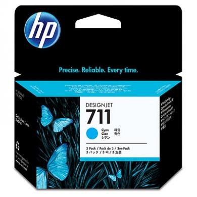 HP Designjet Cyan ink cartridge No. 711