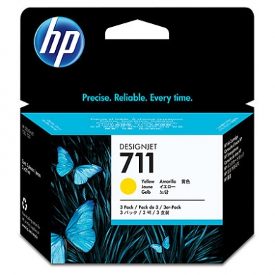 HP Designjet Yellow ink cartridge No. 711