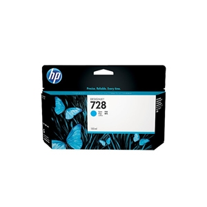 HP 728 HP Cyan ink cartridge F9J67A