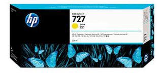 HP Designjet High Capacity Yellow ink cartridge No. 727
