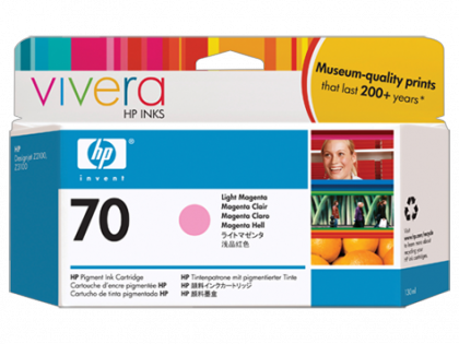 HP Designjet Light Magenta ink cartridge No.70