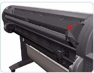 Rear Tray Assembly - A0 (Designjet Z Series)