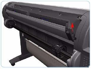 Rear Tray Assembly - A1 (Designjet Z Series)
