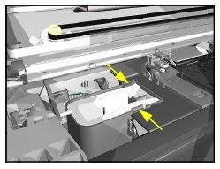Spittoon Assembly (Designjet 5xx/800)
