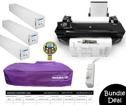 Designjet T120 CQ891A bundle deal 1