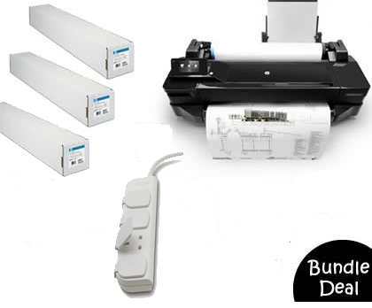 Designjet T120 A1 CQ891A Bundle Deal 2