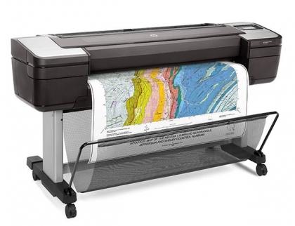 HP DesignJet T1700dr (44 inch) PostScript Printer - 1VD88A