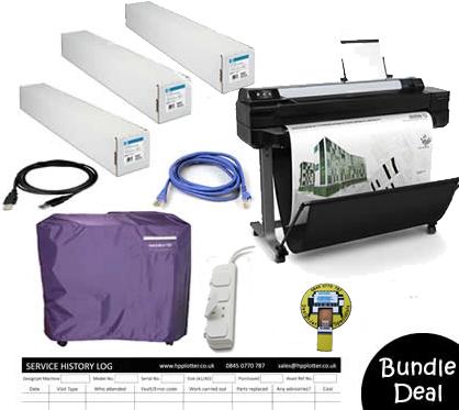 Designjet T520 A0 CQ893A Bundle Deal 1