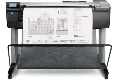 HP Designjet T830 36 inch (A0) printer/scanner (MFP) F9A30B 2018 edition