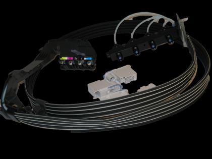 Tubes Assembly - A1 (Designjet 500/510/800)
