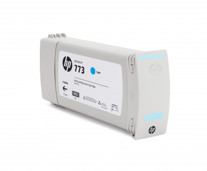 HP 773 Designjet Cyan Ink Cartridge (C1Q42A)