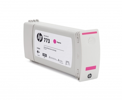 HP 773 Designjet Magenta Ink Cartridge (C1Q39A)
