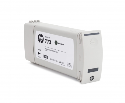 HP 773 Designjet Matte Black Ink Cartridge (C1Q37A)