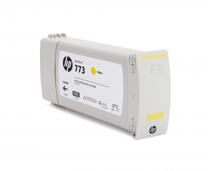 HP 773 Designjet Yellow Ink Cartridge (C1Q40A)