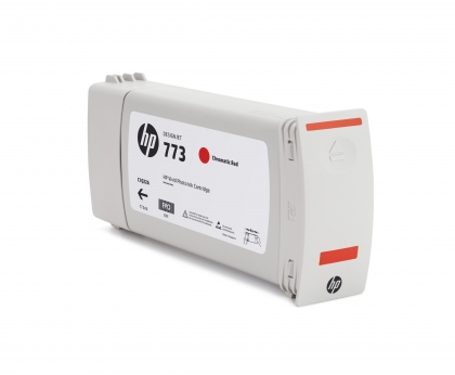 HP 773 Designjet Chromatic Red Ink Cartridge (C1Q38A)