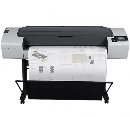 HP Designjet T790 large format CAD printer