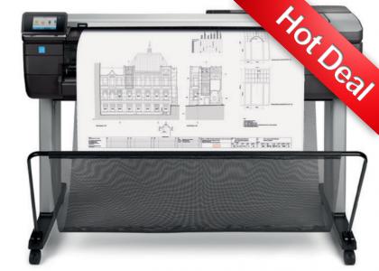 HP Designjet T830 36 inch (A0) printer/scanner (MFP) F9A30A