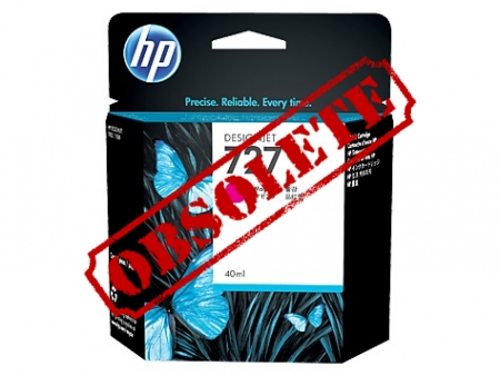 HP 727 Designjet Photo Magenta Cartridge (B3P14A)