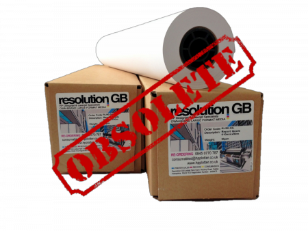 Resolution special grade coated paper - Extra Long - 33