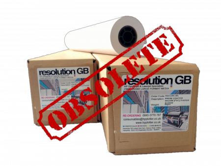 Resolution special grade coated paper Extra Long - 42