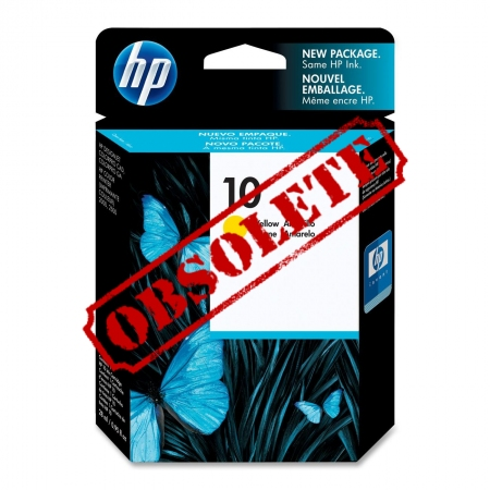 HP Designjet Yellow ink cartridge No.10