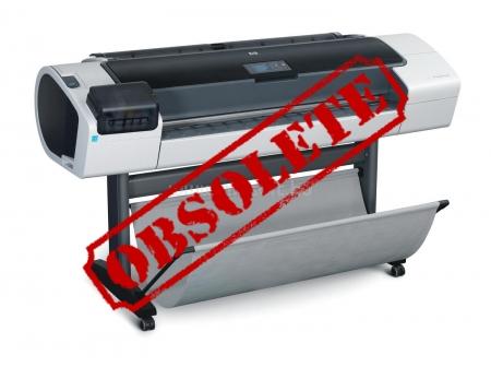 Designjet T1200 44'' CH538A CAD Printer