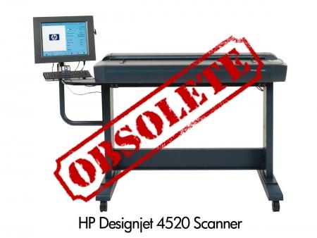 Designjet 4520 Scanner CM770A
