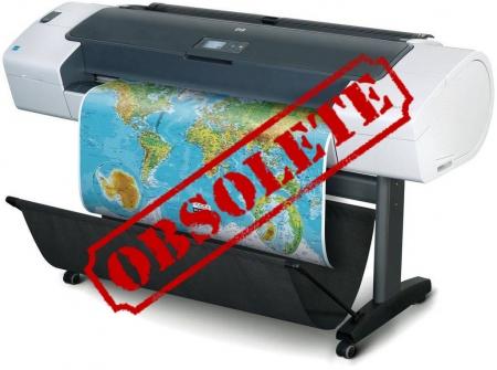 Designjet T770 44'' Hard Disk Version CN375A CAD Printer