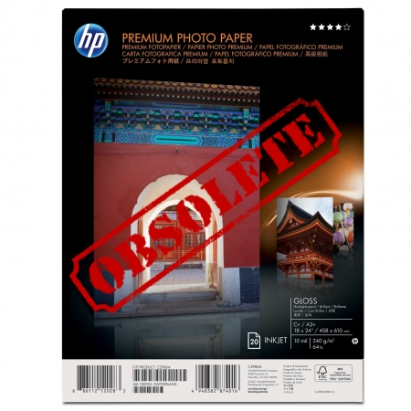 HP Premium Gloss Photo Paper - CZ985A