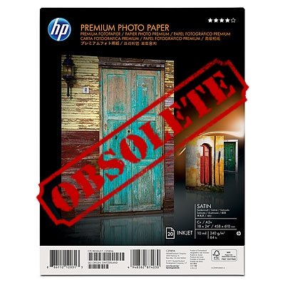 HP Premium Satin Photo Paper - CZ989A