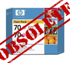 HP Designjet Twin Pack Light Magenta ink No.70