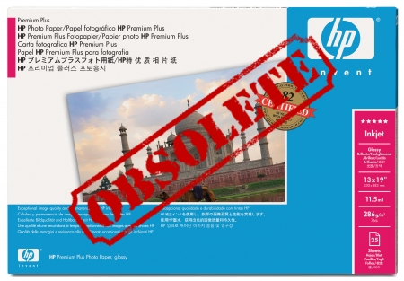 HP Premium Plus Gloss Photo Paper - Q5487A