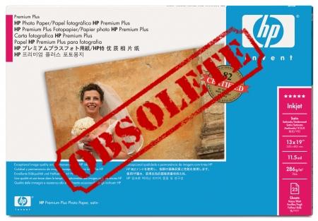 HP Premium Plus Satin Photo Paper - Q5490A